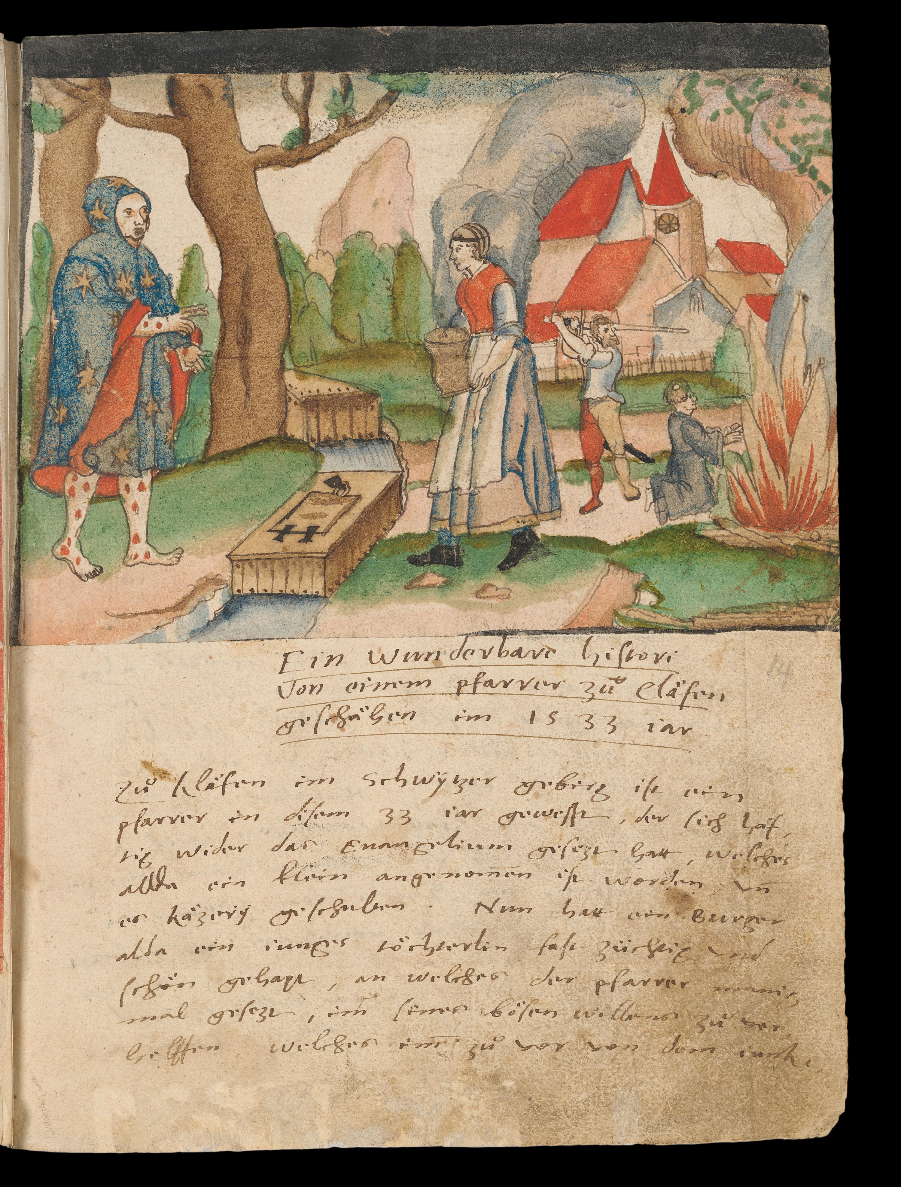 Wunderbare Histori 1533